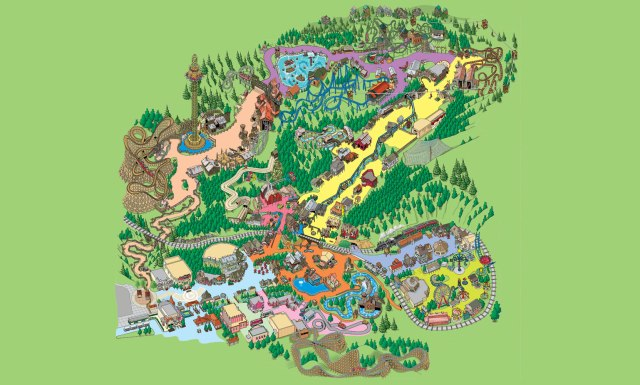 dollywood_park_map